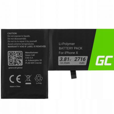 Apple Bateria GreenCell A1865 do telefonu iPhone X