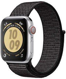 Apple Crong Pasek sportowy Crong Reflex Band do Watch 38/40 mm odblaskowy czarny CRG-40RFB-BLK
