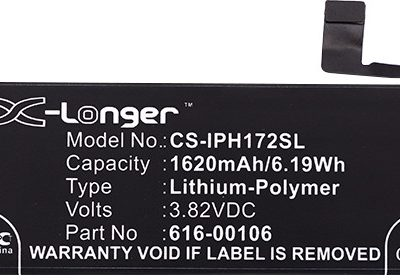 Apple iPhone SE 1620mAh 6.19Wh Li-Polymer 3.82V Cameron Sino) CS-IPH172SL