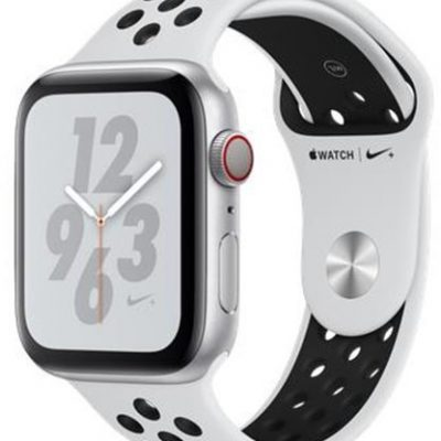 Apple Nike+ Series 4 GPS 44mm Srebrny/Platyna (MTXK2KS/A)