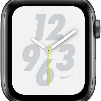 Apple Nike+ Series 4 / GPS+LTE / 44mm Gwiezdna szarość (FTXM2B/A)