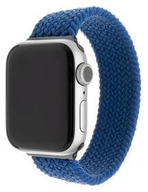 Apple Pasek wymienny FIXED Nylon Strap na Watch 42/44mm velikost XS FIXENST-434-XS-BL) Niebieski