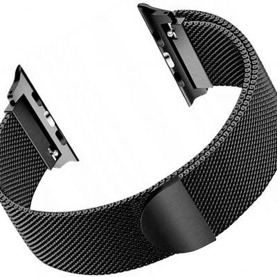 Apple TECH-PROTECT TECH-PROTECT Pasek TECH-PROTECT Milaneseband do Watch 1/2/3/4 38/40mm) Czarny