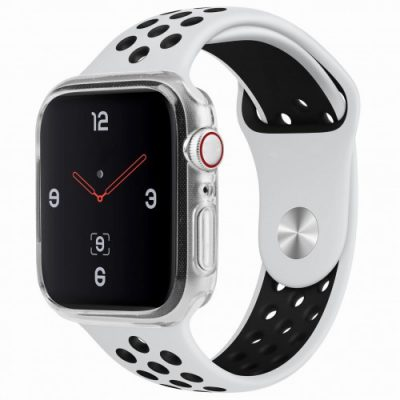 Apple UNIQ Etui Uniq Glase Watch 5/4 - 40 mm, Przezroczyste 8886463667811