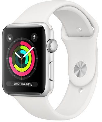 Apple Watch 3 38mm Aluminium / Biały