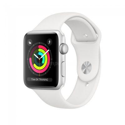 Apple Watch 3 42mm Aluminium / Biały
