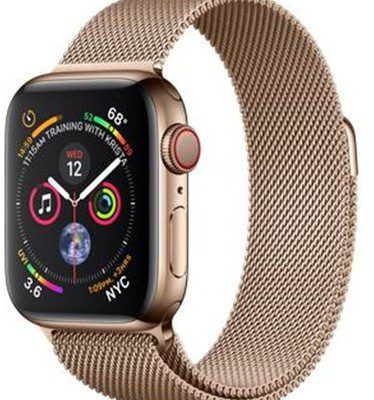 Apple Watch 4 40/Gold Stainless Steel with Gold Milaneese Loop (MTVQ2KS/A)