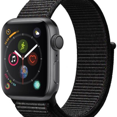 Apple Watch 4 40/Space Gray/Black Sport Lo GPS (MU672WB/A)