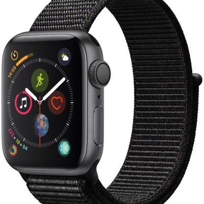 Apple Watch 4 40/Space Gray/Black Sport Lo GPS (MU672WB/A)