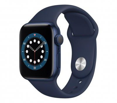 Apple Watch 6 40/Blue Aluminium/Surf Blue Sport GPS