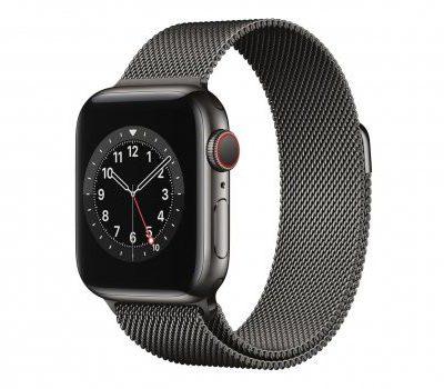 Apple Watch 6 40/Graphite Steel/Graphite Loop LTE