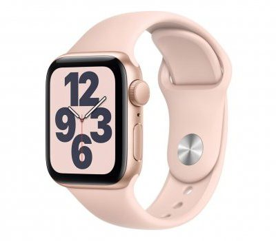 Apple Watch SE 40/Gold Aluminium/Pink Sport GPS