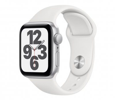 Apple Watch SE 40/Silver Aluminium/White Sport GPS