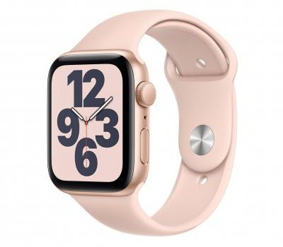 Apple Watch SE 44/Gold Aluminium/Pink Sport GPS