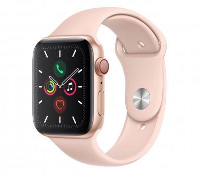 Apple Watch Series 5 GPS + Cellular 44mm Złoty (MWWD2WB/A)