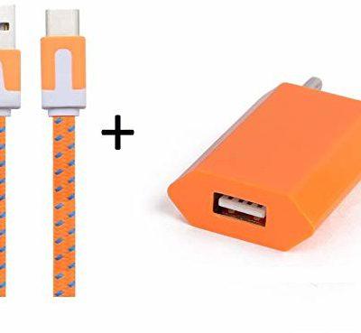 ASUS Shot Case Shot Case adapter sieciowy USB do ZenFone Zoom S smartfon/tablet biały/pomarańczowy 237298