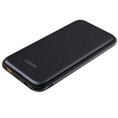 Aukey Bateria PB-Y13 Power Bank 10,000 mAh 18W, Czarna 608119195060