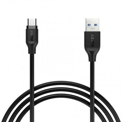 Aukey CB-CD4 szybki kabel Quick Charge USB C-USB 3.0 | 1m