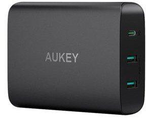 Aukey Ładowarka PA-Y12 72W 7.8A USB C 3.0+2x USB 4.8A 1573-74475_20180808170226