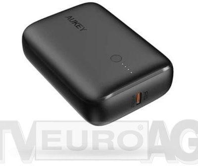 Aukey PB-N83 Basix Mini 10000 mAh PD czarny  