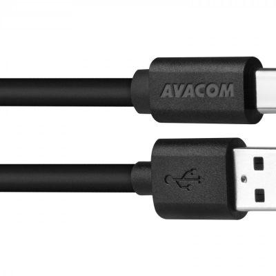 Avacom Kabel USB 2.0 USB A M USB C M 1m czarny ANAQ00015KAG