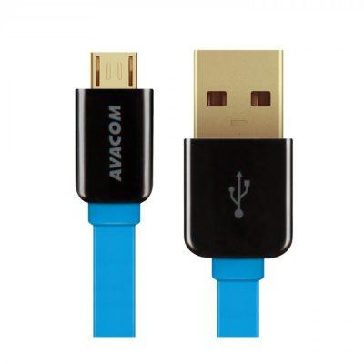 Avacom Kabel USB 2.0 USB A M USB micro M 0.4m niebieski ANAQ00007KAG
