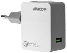 Avacom Ładowarka do sieci HomeMAX 1x USB 3A) s funkcí rychlonabíjení QC 3.0 NASN-QC1X-WW) Biała