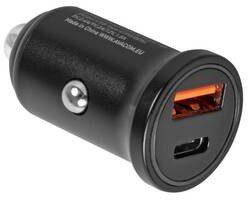 Avacom Zasilacz samochodowy CarPRO 2 1x USB 1x USB-C PD NACL-PD2X-KK) Czarny