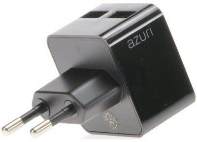 Azuri warka sieciowa AZURI 2 A/2 x USB Rozłóż zakup na 50 rat