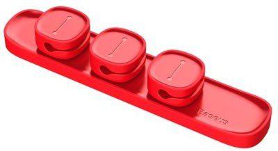 Baseus Baseus Organizer BASEUS Peas do kabli Czerwony BRA007200 BRA007200