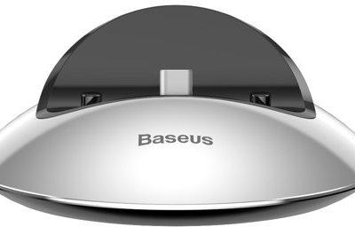 Baseus Baseus stacja dokująca ładowarka USB C 2A Srebrny 1573-74475_20180514130941