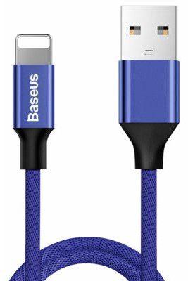 Baseus Kabel USB Baseus Baseus Oryginalny kabel Lightning iPhone Yiven 1,2m Navy Blue (25264-uniw)