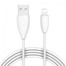 Baseus Kabel Waist CALMY-02 (USB 2.0 - Lightning ; 1,2m; kolor biały) 2_206785