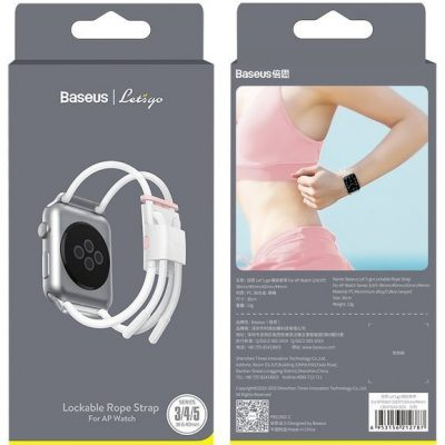 BASEUS Let's Go Cord | Opaska regulowana pasek sportowy do Apple Watch 3/4/5 38/40 LBAPWA4-A24
