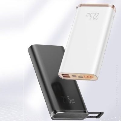 Baseus Starlight | Power Bank 20000mAh Huawei SCP Quick Charge 3.0 Power Delivery 18W | czarny PPXC-01