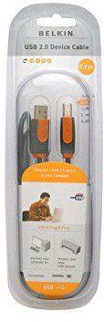 Belkin cu1000cp1,8 M-P kabel USB, 1,8 m, grau CU1000CP1.8M-P