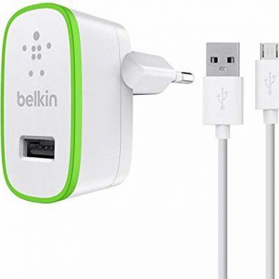 BELKIN Ładowanie sekretarka ładowarka micro USB F8M886VF04-WHT