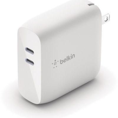 Belkin Ładowarka 63W USB-C GaN Biała