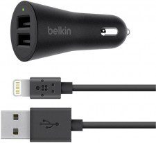 BELKIN Ładowarka BoostUp 4.8A + Kabel iPhone Lightning 1608773