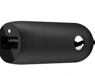 BELKIN Ładowarka samochodowa Single USB-A Car Charger 18W, QC3 CCA002btBK