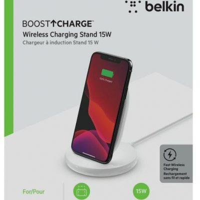 Belkin Podstawka ładująca bezprzewodowa 15W biała