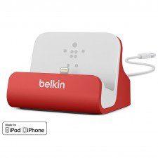 Belkin Stacja dokująca Mixit iPhone / iPod, czerwona F8J045btRED
