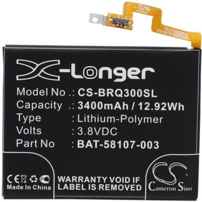 BlackBerry Passport / BAT-58107-003 3400mAh 12.92Wh Li-Polymer 3.8V (Cameron Sin