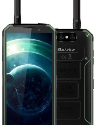 Blackview BV9500 Pro 128GB Dual Sim Czarno-zielony