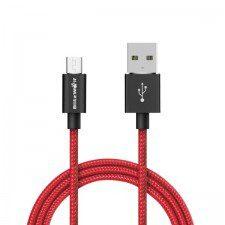 BlitzWolf Kabel USB typu C BlitzWolf BW-TC1 3A 1m (czerwony) BW-TC1