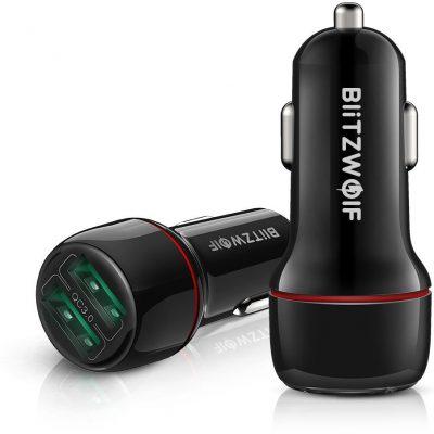 BlitzWolf Ładowarka samochodowa BW-SD5 25W Qc 3.0