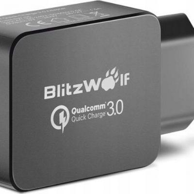 BlitzWolf Ładowarka Sieciowa BW-S5 Usb 18W Czarna