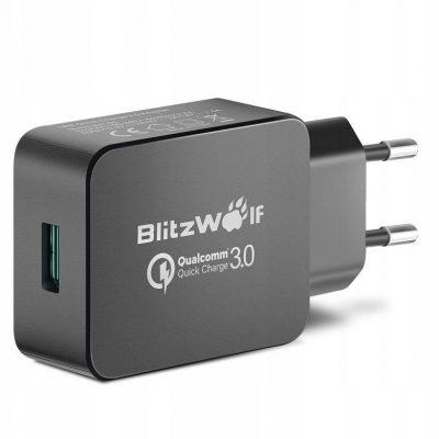 BlitzWolf Ładowarka sieciowa Usb QC3.0 18W
