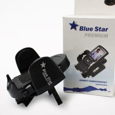 Blue Star - Uchwyt samochodowy Premium Line na kratkę nawiewu - czarny UW000000KRWL00000