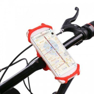 Brak danych Uchwyt rowerowy na telefon M111035RD Czerwony 1573-74475_20190716165951